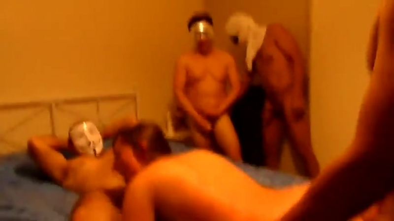 Amateur Gangbang Porn Video, October 2018